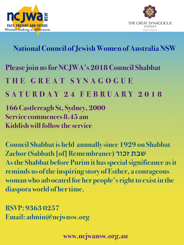Council-Shabbat